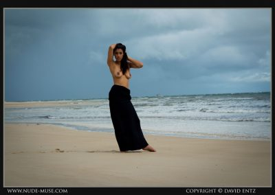 Damour Black Dress Nude Photoset Clothes Free