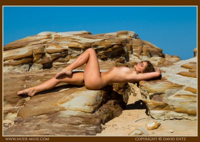 Sharna rocks and sky