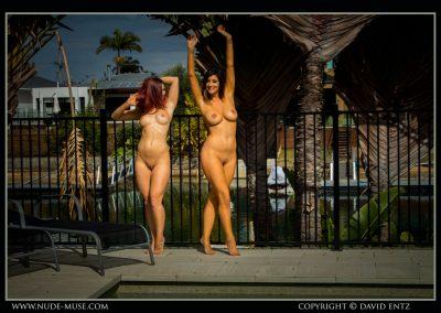 Celeste Scarlett Nude Sunbathing