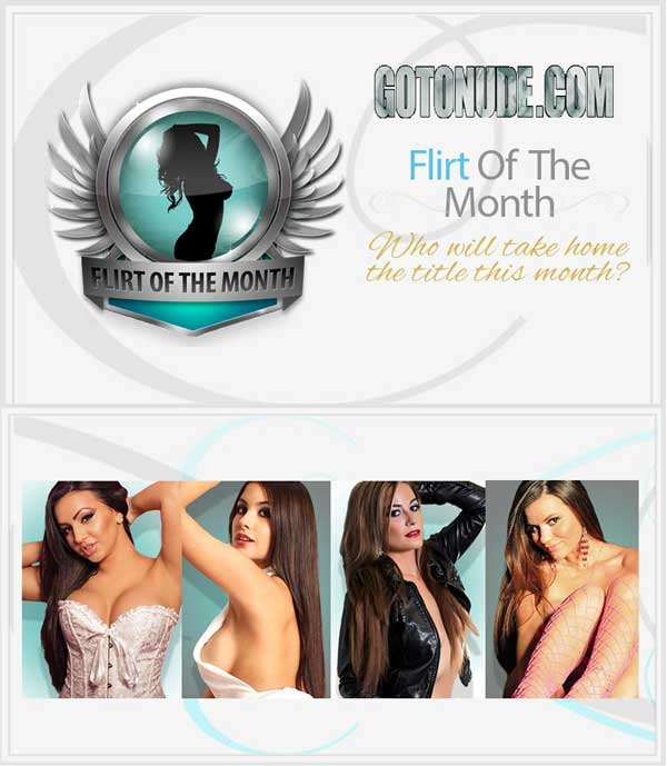 Who do you want to be this month's Flirt of the Month? Help your favorite models rise to the top and win a cash prize and the title of Flirt of the Month! Every model who broadcasts at least 60 hours during the month is eligible to win, and the models with the most credits at the end will claim the cash prizes and glory. The winning models will also be featured on Twitter the whole next month and have extra benefits during our Flirt of the Year competition at the end of the year as well. We can't wait to see who takes the crown!