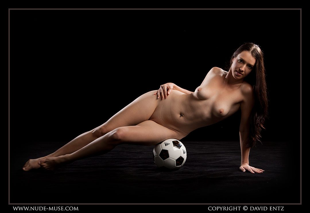 Maddy soccer in the NUDE