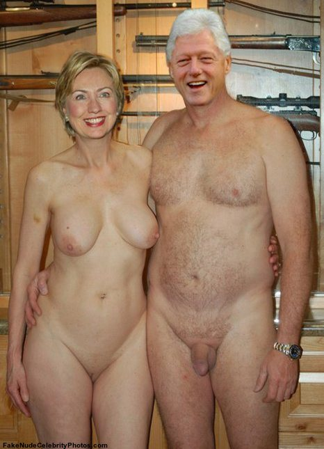 HillaryPorn-Bill and Hillary client in the nude