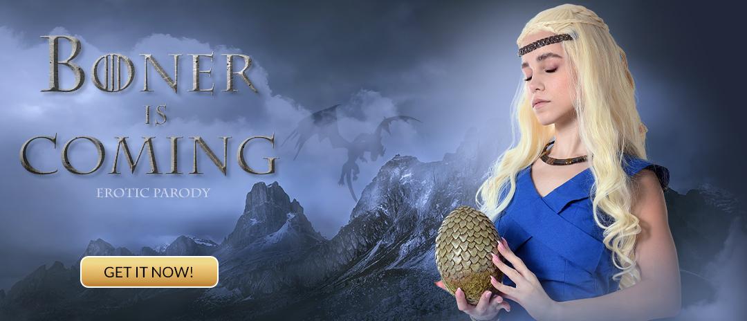 Game of Thrones Erotic parody! Bonnie Parker is cuming